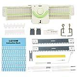Machine à Tricoter, 3,9 Points Machine à Tricoter Haute efficacité Métal en Plastique Machine à Tricoter Outils Accessoires pour Lks100 Rassemblement Anneau Tricot aérien