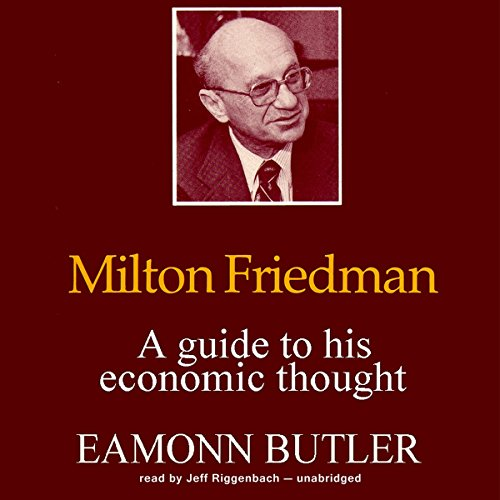 Milton Friedman audiobook cover art