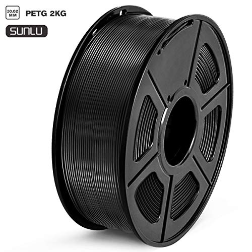 Filamento 3D PETG 1,75 mm, 1 kg, 1 carrete