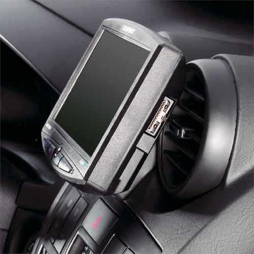 KUDA 241205 Halterung Kunstleder schwarz für Hyundai Coupe GK (FX) ab 03/2002 bis 2009