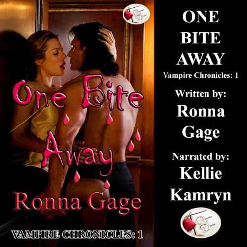 One Bite Away audiobook cover art