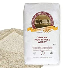 Perfect for all 'whole wheat' bread recipes – including sliced bread, sourdough bread, and bread machines. The wheat used in this flour is grown organically in high mountain valleys on family owned farms. Milled 100% whole and contains all the nutrit...