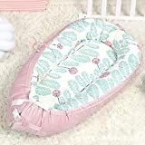 MMLONE Baby Lounger y Baby Nest Sharing Bubble Velvet Cotton Franela Cuna para Dormir, algodón...
