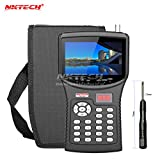 NKTECH HD NK-620 Localizador de satélites medidor de señal de TV comprobador de cámara CCTV monitor de prueba de cámaras de vídeo AHD TVI CVI pantalla TFT-LCD para señales DVB-S/S2 MPEG-4/MPEG-2