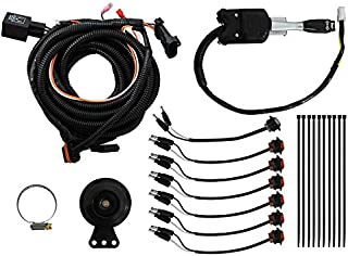 SuperATV Turn Signal Kit for Polaris General/General 4 (2016+) - Steering Column Turn Switch and Attached Horn! - Plug and Play For Easy Installation