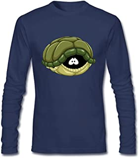 Insistanse Men's Scared Turtle Long Sleeve T-Shirt