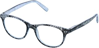 Peepers Women's Masquerade - Gray 2416200 Cateye Reading Glasses, Gray, 2.00