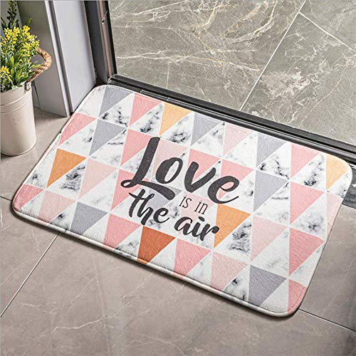 LHJY Kitchen Floor Mat, Home Geometric Doormat Non-slip Backing 60×90cm(Support Customization)(Size:60×90cm(23.6×35.4in,Color:A6)