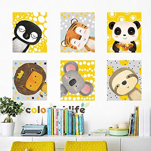 Niedlicher Avatar Kinderzimmer-Dekorationen Cartoon-Fotos Hintergrund Wandaufkleber Schlafzimmer Kleiderschrank gratis Aufkleber 60 x 90 cm