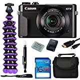 Canon PowerShot G7 X Mark II 20.1MP Digital Camera Bundle Kit with Spider Tripod and...