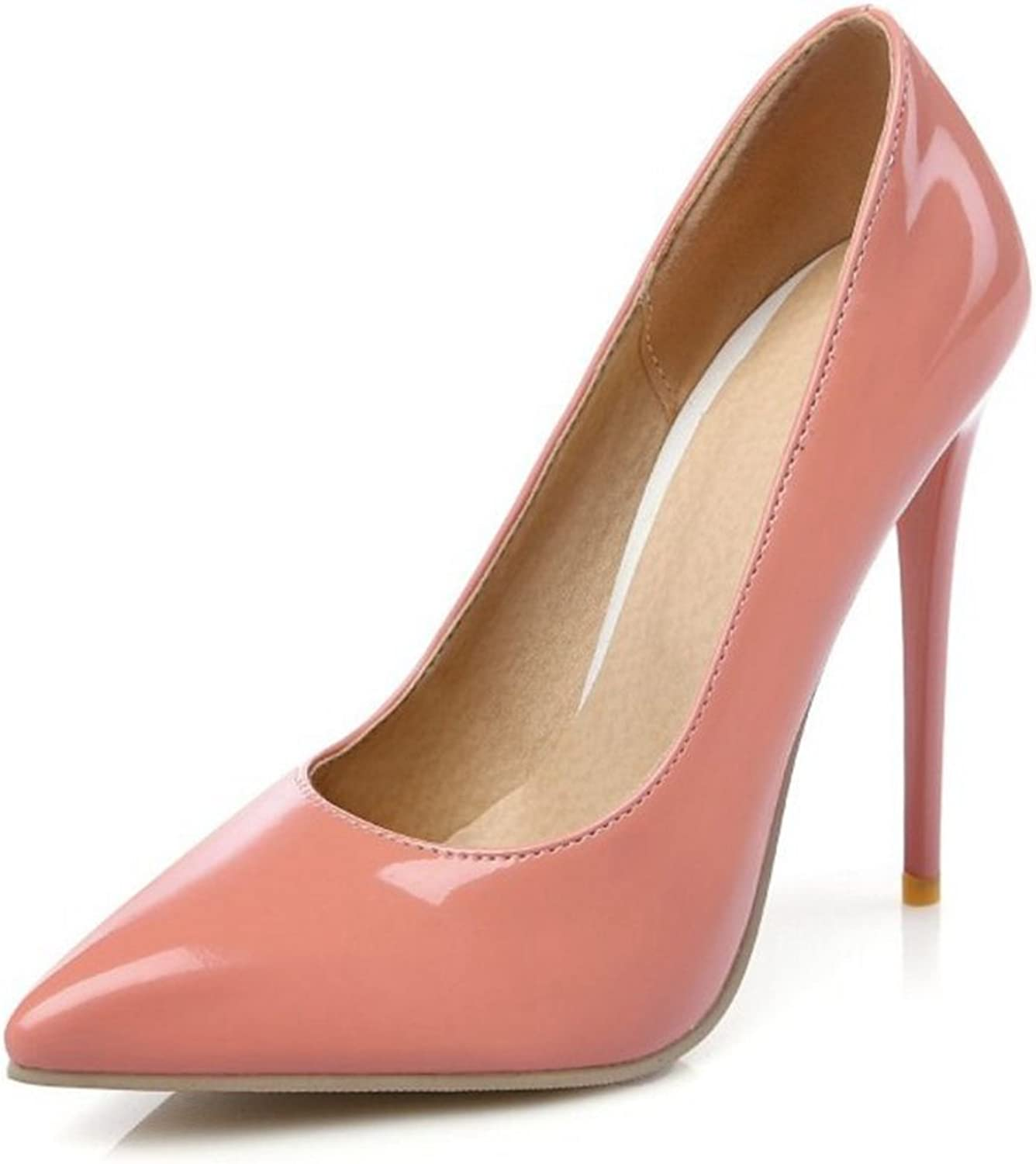 Smilice Women Dressy Pumps High Heel Stiletto Pointed Toe shoes Occupational Style 6 colors Available