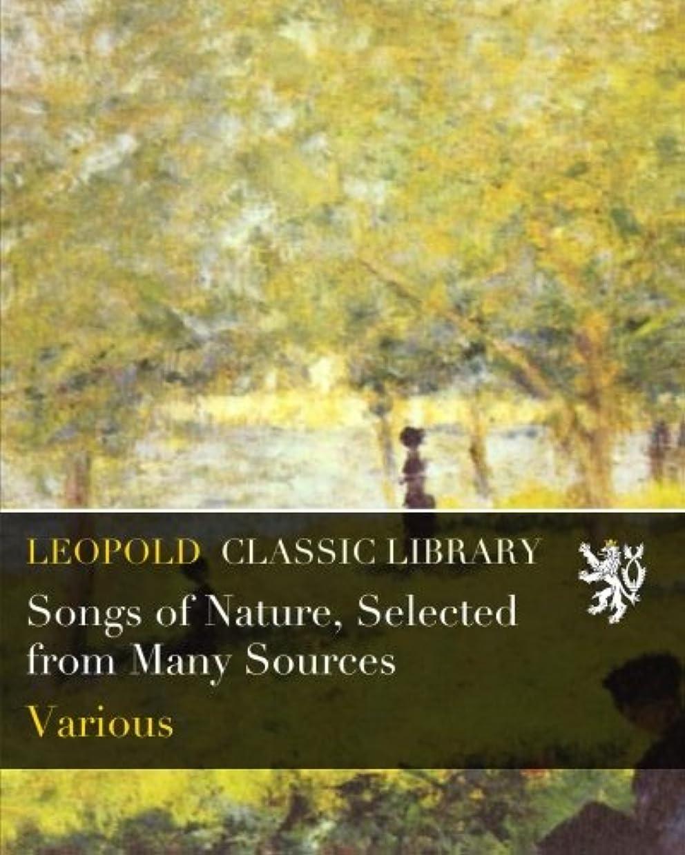 ドローわずかにキュービックSongs of Nature, Selected from Many Sources