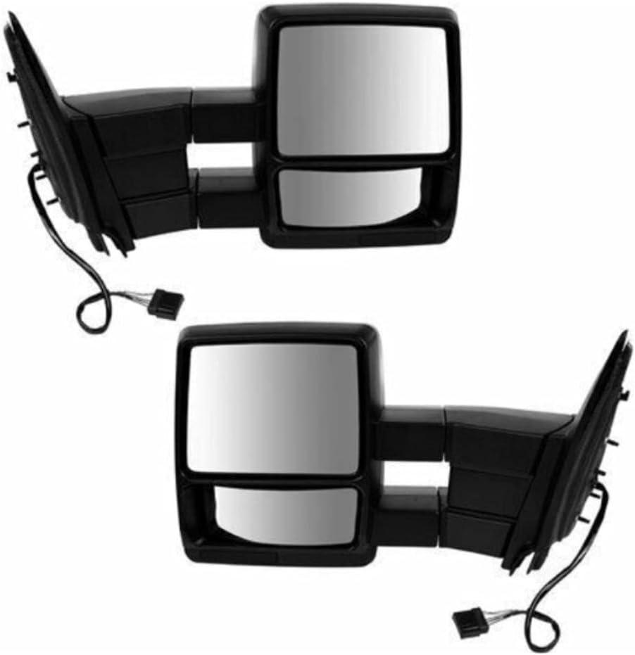 Deebior Door Mirror Set Compatible Extended Regular discount with Pickup Cab Low price Crew