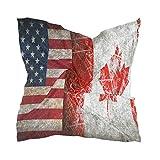 LZXO - Pañuelo para mujer, diseño vintage de la bandera de Estados Unidos, cuadrado, pañuelo para la cabeza, pañuelo ligero con 10 pasadores de bobby, 60 x 60 cm