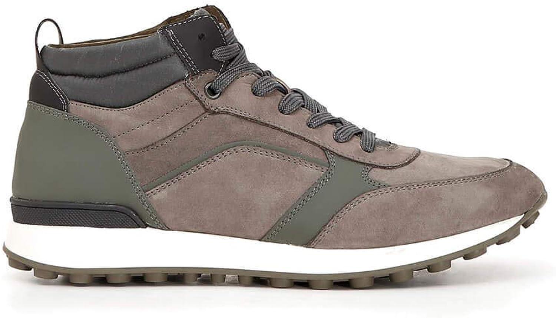 Cafè black JPB780 Sneakers Nabuk and Fabric Boots
