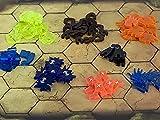 Condition Tokens - Juego de 60 marcadores de efectos de acrílico para Gloomhaven, círculos olvidados y mandíbulas del león
