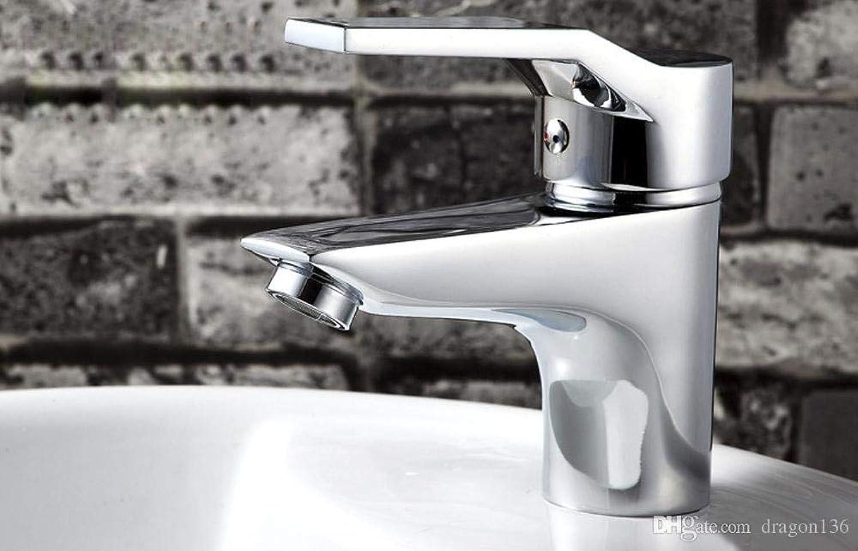 Decorry Brass Bathroom Faucet Pool Deck Mountain Vanity Vessel Basin Mixer Tap