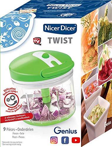 Nicer DICERTWIST01 TWIST Schneidemaschine, Zerkleinerer, Mixer, Auswringer und Mixer