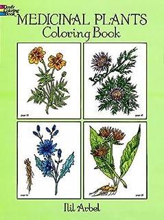 Medicinal Plants Coloring Book