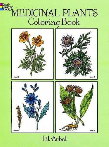 Medicinal Plants Coloring Book (Dover Nature Coloring Book)