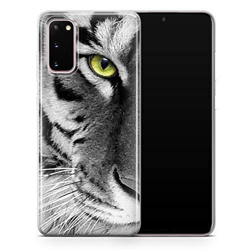 Funda moderna para teléfono con diseño de tigre y animal para Samsung Galaxy S10, funda delgada y suave de silicona TPU – Diseño 1 – A51