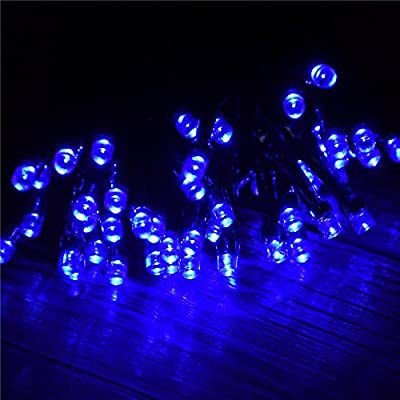 Velice Solar Powered LED String Light, Ambiance Lighting, 39ft 12m 100 LED Solar Fairy String Lights for For Garden, Home, Patio, Lawn, Christmas Trees, Party and Holiday Decorations