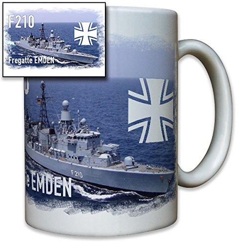 Fregatte Emden Duitse Marine Schip EK Bundeswehr Bw Foto - Mok Beker koffie #8240