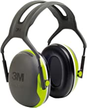 3M Peltor gehoorbescherming X4A neongroen - gehoorbescherming met verstelbare hoofdband in smalle dubbelbeugel ontwerp - S...