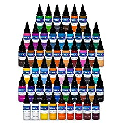 Intenze Tattoo Ink – 54 Colors Set