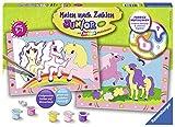 Ravensburger Malen nach Zahlen 27773 - Süße Ponys - Für Kinder von 5-7 Jahren -
