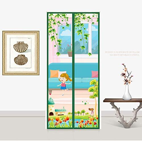 cortinas para puertas exteriores mosquiteras