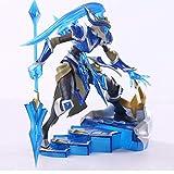 Modelo De Animelol League of Legends Figura Juego De Acción Kalista Modelo De Juguete Figura De Acción 3D Game Heros Anime Party Decor Cool Toy para Niño 21 Cm
