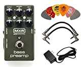 Best Bass Preamps - MXR M81 Bass Preamp Pedal Bundle with 9V Review
