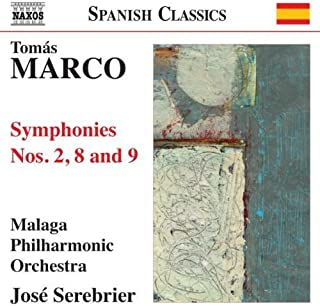 Marco: Symphonies Nos., 2, 8 and 9 by Malaga Philharmonic Orchestra (2012-02-16)