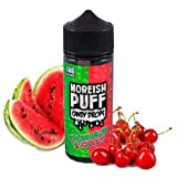 Moreish Puff Candy Drops Watermelon & Cherry 100ml, producto sin nicotina para cigarrillos electrónicos