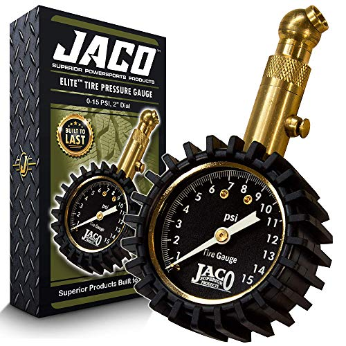JACO Elite Low Pressure Tire Gauge - 15 PSI