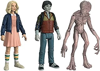 Action Figures: Stranger Things Eleven Will & Demogorgan Fall Convention Collectible Figure (3 Pack)