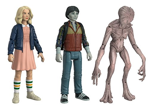 Funko Action Figures: Stranger Things Eleven Will & Demogorgan Fall Convention Collectible Figure (3 Pack)