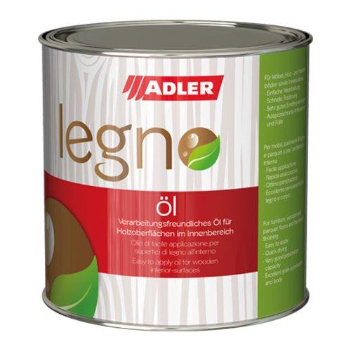 ADLER Legno Öl - Universelles Holzöl farblos für Laub- und Nadelhölzer im Innenbereich - Holzschutz & Pflege mit Holzpflegeöl für Möbel, Innenausbau & Holzböden - Farblos 5l