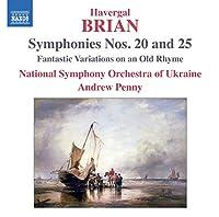 Symphonies Nos. 20 & 25