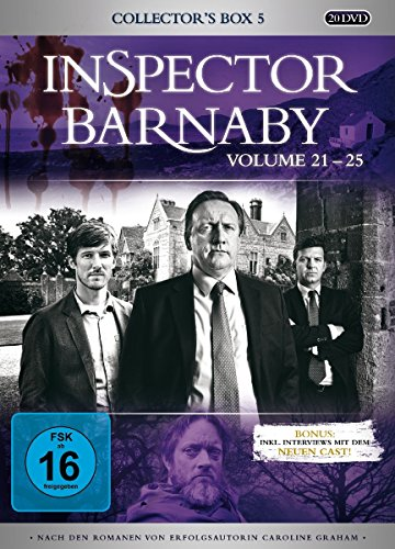 Inspector Barnaby - Collector\'s Box 5, Vol. 21-25 (20 Discs)