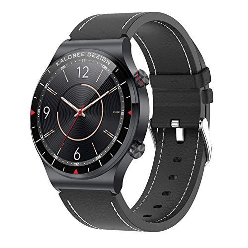 BNMY Smartwatch Llamada Bluetooth Pantalla De 1,3 Pulgadas Reloj Inteligente Impermeable IP68 con Pulsómetros para Mujer Hombre, Pulsera De Actividad Inteligente,F