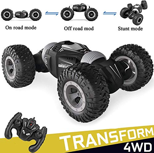 Eholder Offroad Remote Control Car,4WD RC Remote Control Monster Truck 2.4Ghz USB Rechargeable RC Truck Toy RC Racing Buggy Hobby Car for Boys Kids Christmas Birthday Gift