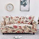 WXQY Fundas de celosía geométrica Funda de sofá elástica Funda de sofá de protección para Mascotas Funda de sofá con Esquina en Forma de L Funda de sofá con Todo Incluido A29 1 Plaza