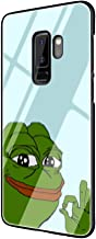The Frog Meme Memes Tempered Glass Phone Case Cover for Samsung Galaxy S10 S9 S8 Plus S7 Edge Note 8 9 (G2,for Samsung S7)