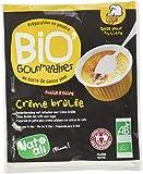 Nat-Ali Bio'Gourmandise Crème Brulée 80 g - Lot de 6