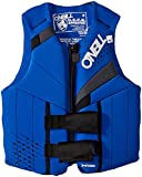 O'Neill Teen Reactor USCG Life Vest, Pacific/Coal/Black, 1SZ