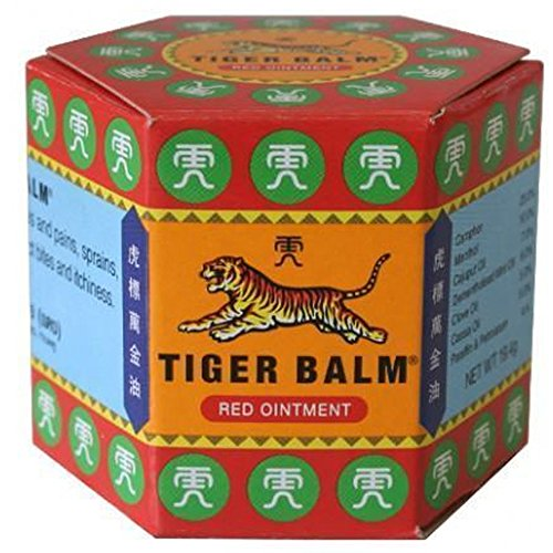 Bálsamo De Tigre Rojo 20g | Anti Dolor| Músculo Articulación | Tiger Balm