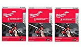 Milwaukee 48-39-0572 Sub-Compact Portable Band Saw Blades, 27-Inch 18TPI, 3 Blades per Pack, 3 Pack...