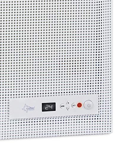 SUNTEC Bad-Wärmewelle Heat Supreme [Wellness-Wärme  Räume bis 35 m³ ~15 m² Bild 2*